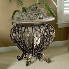 heritage indoor outdoor pedestal plant stand plants and plant