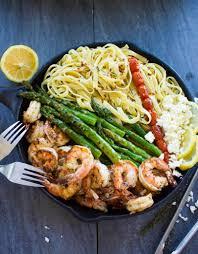 Dinner Ideas With Shrimp And Pasta Asparagus Shrimp Pasta Dinner Eazy Peazy Mealz