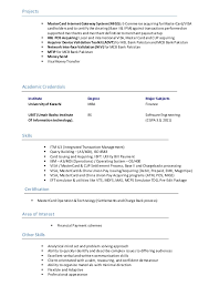 Resume Interest Computer Network Resume Sample Guide To Writing Dissertation Write