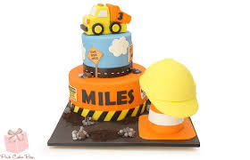 construction birthday cake boys construction themed cake birthday cakes