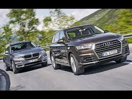 bmw q7 car 2016 audi q7 vs 2016 bmw x5 exterior interior and drive