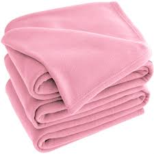 light pink soft blanket xl