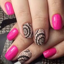 1packs 100x4cm flower lace diy designs nail foils sticker diy