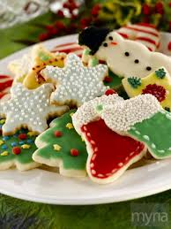 celebrate with decorative christmas sugar cookies myria