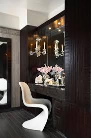Contemporary Makeup Vanity Panton Chair In Bathroom Lucy Interior Design