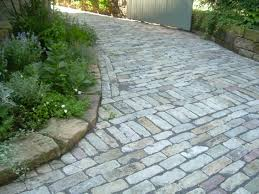 Cobblestone Ideas by Cobblestone Walkway In My Garden Pinterest Walkways And Gardens