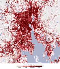 Boston Vs New York Map by Nasa Satellites Pinpoint Drivers Of Urban Heat Islands In The