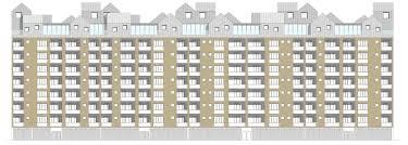 residential building elevation upcity cinzia stella