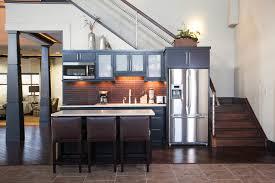 Urban Design Kitchens - private suite for airplane hangar contemporary kitchen