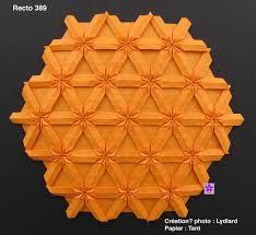 Origami Tessalation - tessellations origami yunus collection
