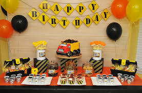 construction party ideas construction party dessert table j a m cakery
