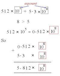 eighth grade dividing scientific notation worksheet 05 u2013 one