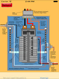 electrical load calculator u0026 electrical plan example apps 148apps