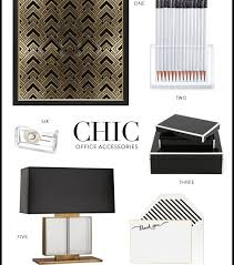 Chic Desk Accessories by Office Supplies Archives Meg Biram