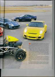 nissan gtr vs corvette z06 porsche 997 gt3 mk i vs corvette z06 vs ariel atom 2 vs lotus