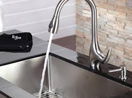 sink u0026 faucet kraus kitchen faucet with soap dispenser pull out