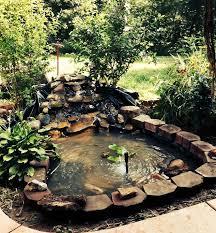 Backyard Pond Images Hand Dug Pond Finished In A Weekend Hometalk