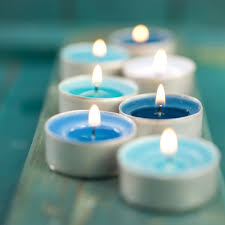 blue tea light candles perth fremantle blue lotus healing acupuncture chinese traditional