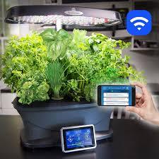 amazon com aerogarden bounty wi fi with gourmet herb seed pod