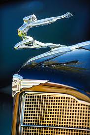 1934 buick series 96 c convertible coupe ornament emblem