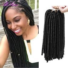 crochet black weave hair red hair extensions faux locs synthetic weave hair crochet braid
