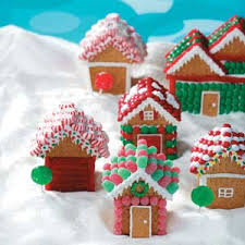 christmas village houses recipe gingerbread village houses