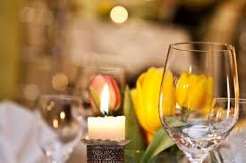 cena al lume di candela ambiente hotel la casa t禺bingen cena a lume di candela