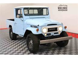 toyota worldwide 1964 toyota land cruiser fj for sale classiccars com cc 999375