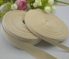 cotton ribbon factory direct high quality cotton ribbon webbing twill cotton