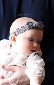baby headband knit bow baby headband knitting pattern window