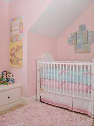 Girls Pink Rug Bedroom Enchating Pink Painted Wall Using Flowery Wall Arts Inside