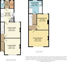 787 Floor Plan by 2 Bedroom Terraced House For Sale In Hooley Lane Redhill Rh1