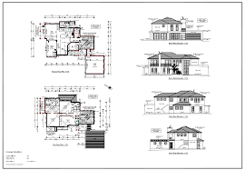 Double Floor House Plans by Architecture House Plans And Double Floor Home Design 2500 Sq Ft 9