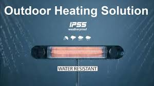 Sunpak Patio Heaters by Outdoor Natural Gas Heaters Youtube