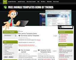 web solutions free joomla template from themza