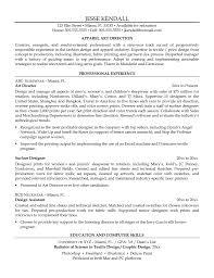 Fashion Design Resume Sample Fitness Resume Resume For Your Job Application
