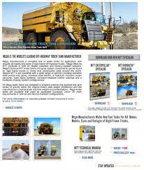mega truck chassis mega rigid frame truck tank conversion