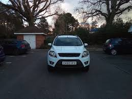 ford kuga 2010 just 50k miles frozen white reduced in horsham
