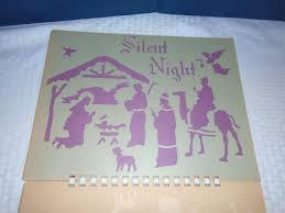 vintage christmas stencils art krenz christmas stencils