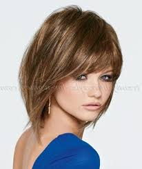photo gallery of medium length bob hairstyles with bangs viewing