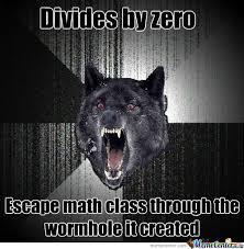 Divide By Zero Meme - divide by zero by assier17 meme center