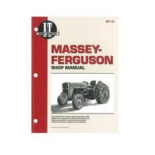 i u0026t shop manual mf 42 for massey ferguson tractors 230 235 240 245
