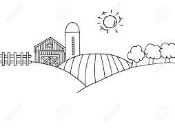 farm clipart black and white many interesting cliparts