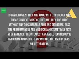 what is c grade movies youtube
