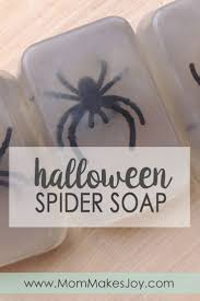spooky halloween spider soap mom makes joy
