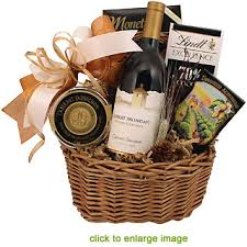 gift baskets with wine classic wine gift basket