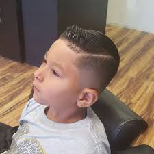 bald fade with hard part the little gentleman u0027s haircut yelp
