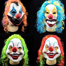 high quality scary clown masks promotion shop for high quality