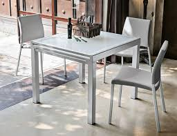 White Glass Extending Dining Table Furniture Square Extendable Dining Table Charming Ideas