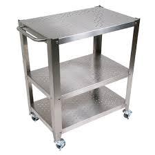 kitchen carts cucina culinarte cherry removable top towel bar